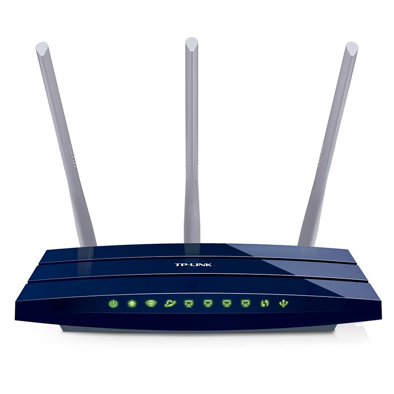Bezprzewodowy router gigabit TPLink TL-WR1043ND