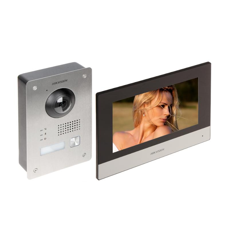 Zestaw wideodomofonowy 2-przewodowy HIKVISION DS-KIS703-P