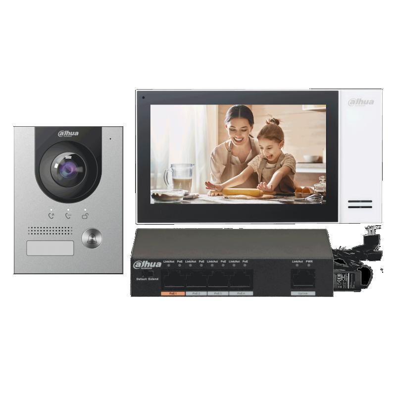 Zestaw wideodomofonowy DAHUA KTP01(F)/S